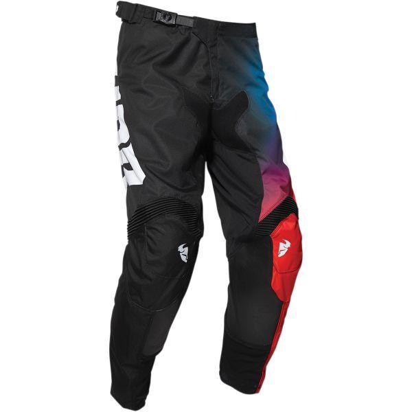 Pantaloni MX-Enduro Thor Pantaloni Pulse Glow Black 2020