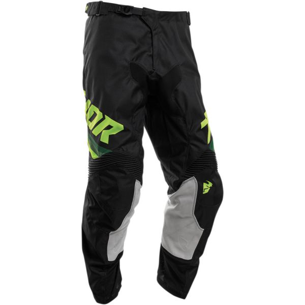 Pantaloni MX-Enduro Thor Pantaloni Pulse Pinner S20 Black/Acid