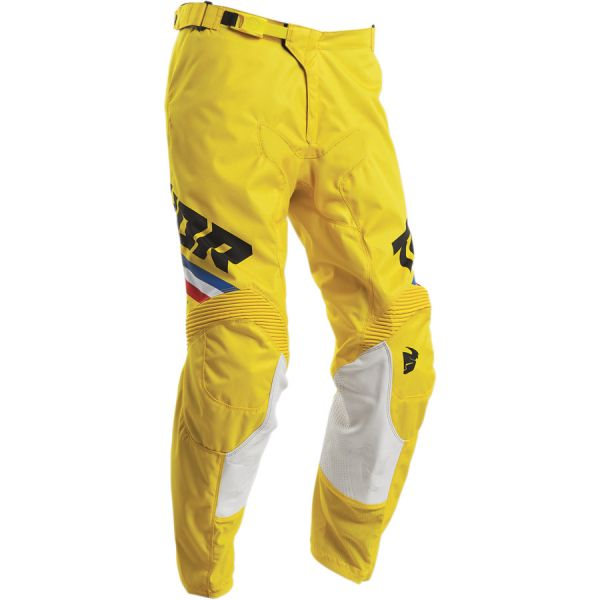 Pantaloni MX-Enduro Thor Pantaloni Pulse Pinner S20 Yellow