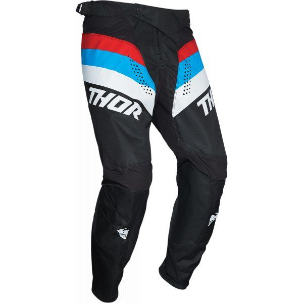 Pantaloni MX-Enduro Thor Pantaloni Pulse Racer Multicolor Albastru 2020