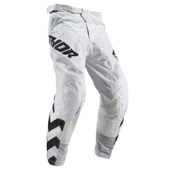 Pantaloni MX-Enduro Copii Thor Pantaloni Pulse Stunner Black/White S9 Copii