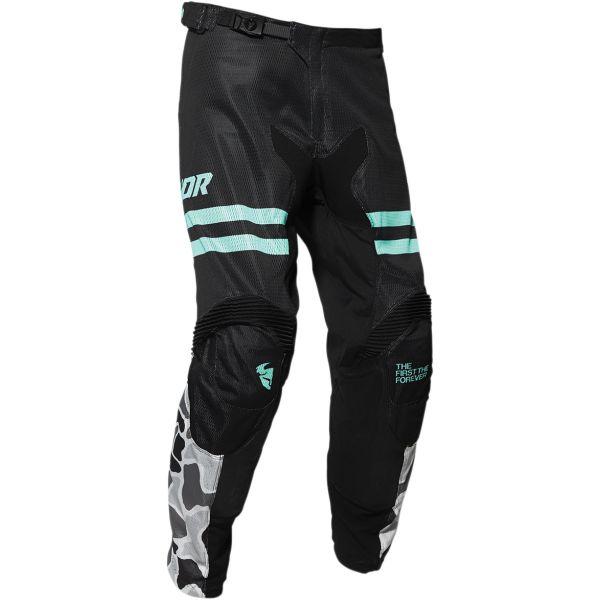 Pantaloni MX-Enduro Thor Pantaloni Pulseair Black/Blue 2020