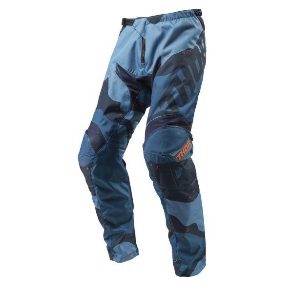 Pantaloni MX-Enduro Thor Pantaloni Sector Camo Blue S9