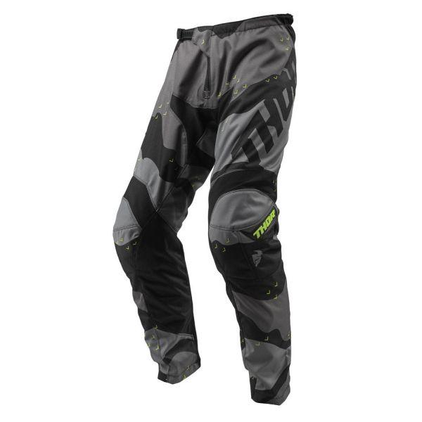 Pantaloni MX-Enduro Thor Pantaloni Sector Camo Gray S9