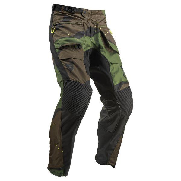 Pantaloni MX-Enduro Thor Pantaloni Terrain Gear ITB Green Camo S9