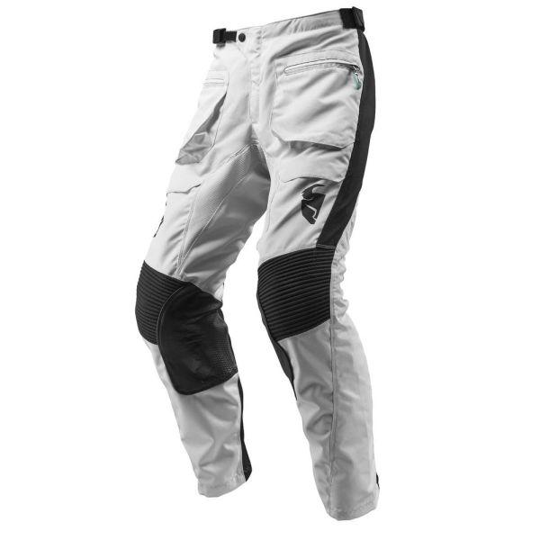 Pantaloni MX-Enduro Thor Pantaloni Terrain Gear ITB Light Gray/Black S9