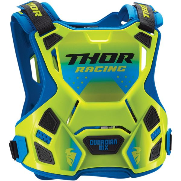 Protectii Piept-Spate Thor Protectie Piept Guardian  Mx Roost Deflector Flo Green