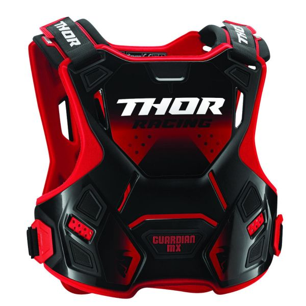 Protectii MX-Enduro Copii Thor Protectie Piept Copii Protectie Piept Guardian  Roost Deflector Red/Black