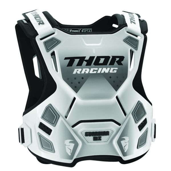 Protectii MX-Enduro Copii Thor Protectie Piept Copii Protectie Piept Guardian  Roost Deflector White/Black