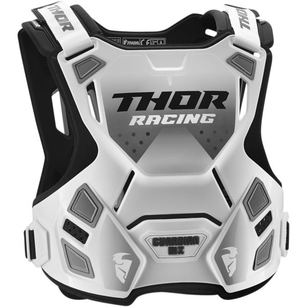 Protectii Piept-Spate Thor Protectie Piept Guardian  Mx Roost Deflector White/Black
