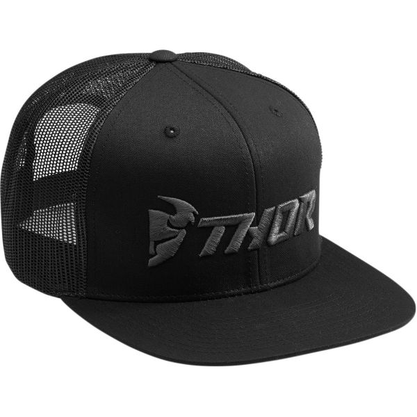 Sepci Thor Sapca S8 Trucker Snapback Black/Gray