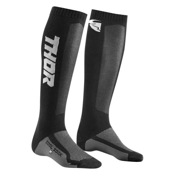 Cizme MX-Enduro Copii Thor Sosete MX Cool Black/Charcoal S9 Copii
