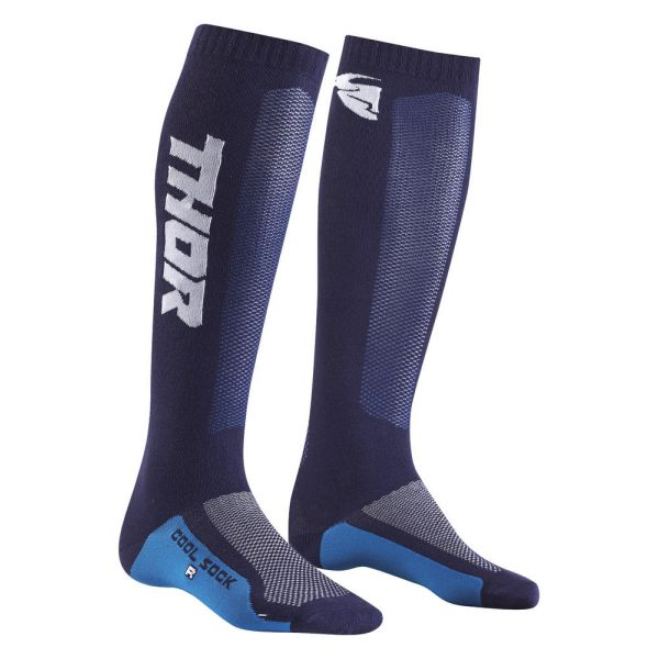 Cizme MX-Enduro Copii Thor Sosete MX Cool Navy/White S9 Copii