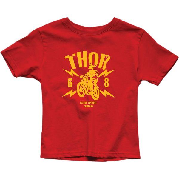 Imbracaminte Copii Thor Tricou Copii Lightning S20 Red