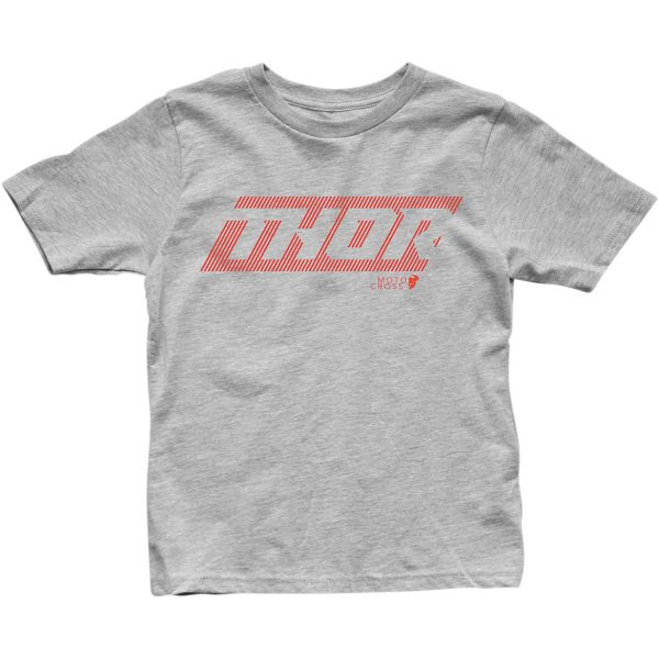 Imbracaminte Copii Thor Tricou Copii Lined S20 Heathe Gray