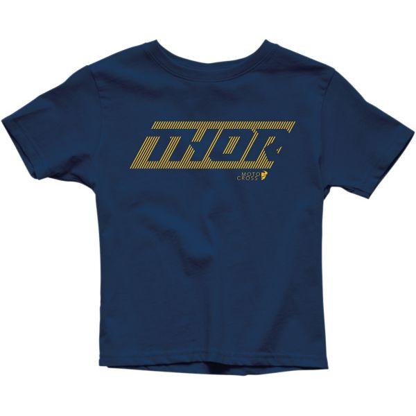 Imbracaminte Copii Thor Tricou Copii Lined S20 Navy