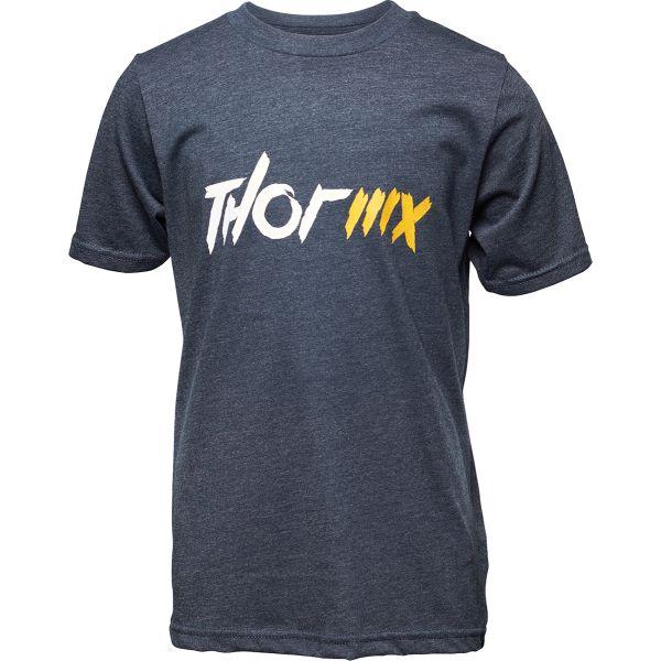 Imbracaminte Copii Thor Tricou Copii MX Bleumarin