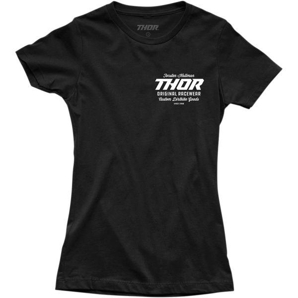 Tricouri Casual Thor Tricou Dama Goods S20 Black