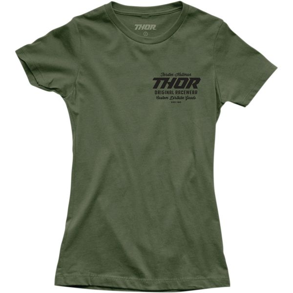 Tricouri Casual Thor Tricou Dama Goods S20 Green