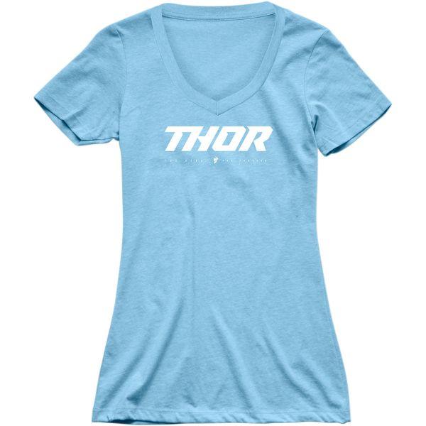 Tricouri Casual Thor Tricou Dama Loud S20 Blue