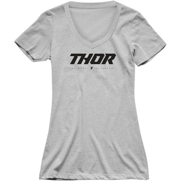 Tricouri Casual Thor Tricou Dama Loud S20 Gray