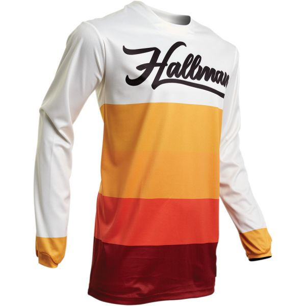 Tricouri MX-Enduro Thor Tricou Hallman Horizon S20 Earth