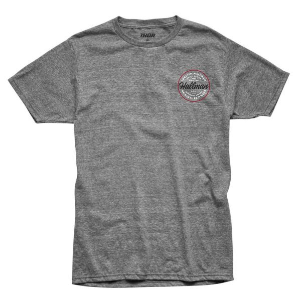 Tricouri/Camasi Casual Thor Tricou Hallman Traditions S9 Gray/Heather