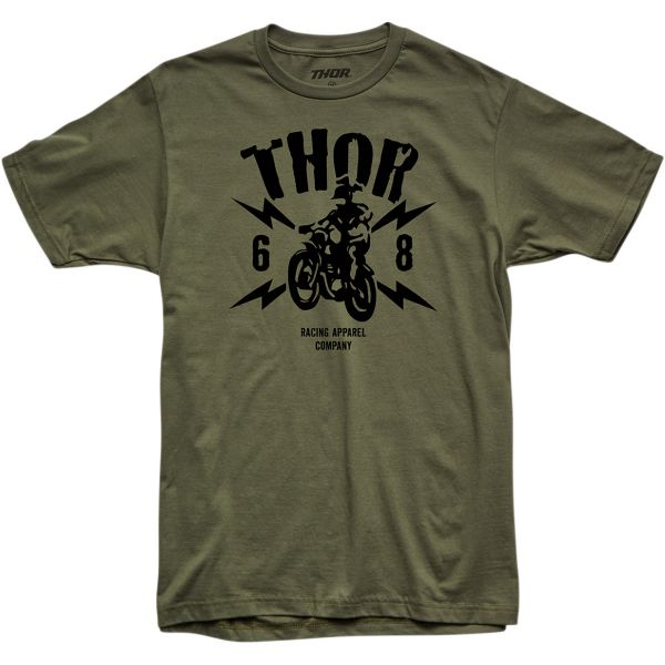 Tricouri Casual Thor Tricou Lightning S20 Green