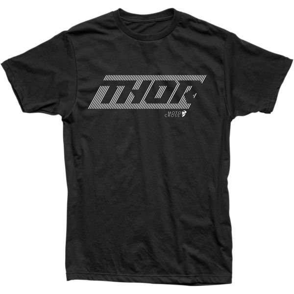 Tricouri Casual Thor Tricou Lined S20 Heather Black