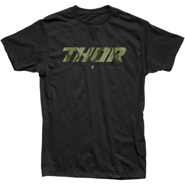 Tricouri Casual Thor Tricou Loud 2 S20 Black/Camo