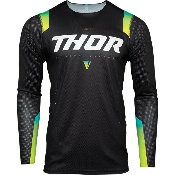 Tricouri MX-Enduro Thor Tricou Mx Prime Pro Unite Negru 2021