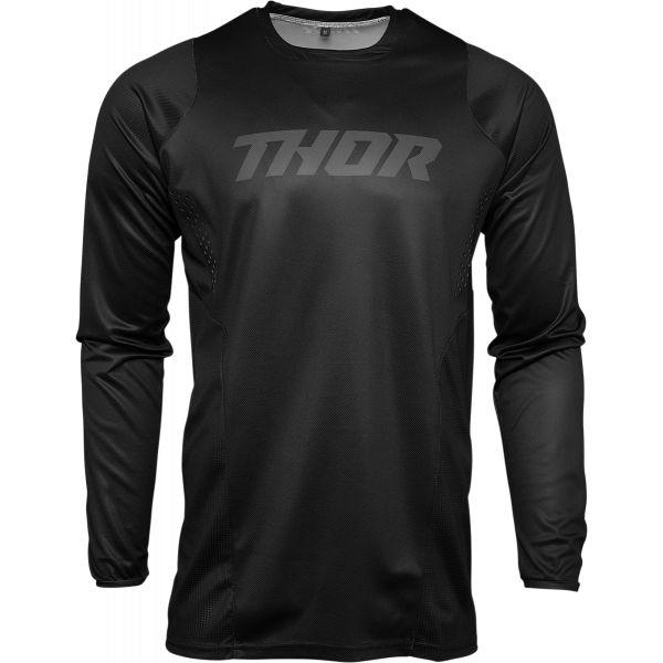 Tricouri MX-Enduro Thor Tricou Mx Pulse Blackout Negru 2021