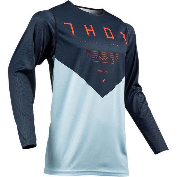 Thor Tricou Prime Pro Jet Midnight/Sky S9