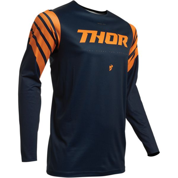 Tricouri MX-Enduro Thor Tricou Prime Pro Strut S20 Blue/Orange