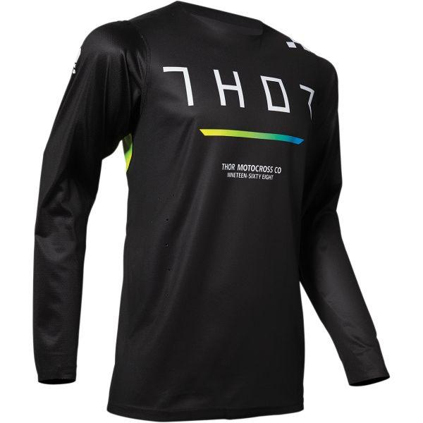 Tricouri MX-Enduro Thor Tricou Pro Trend Black 2020