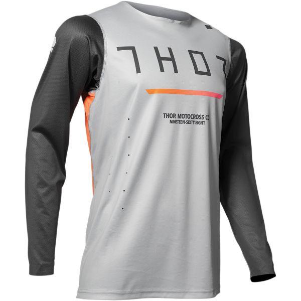 Tricouri MX-Enduro Thor Tricou Pro Trend Gray 2020