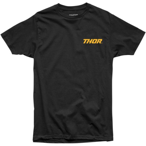 Tricouri Casual Thor Tricou Ruts Steel S20 Black