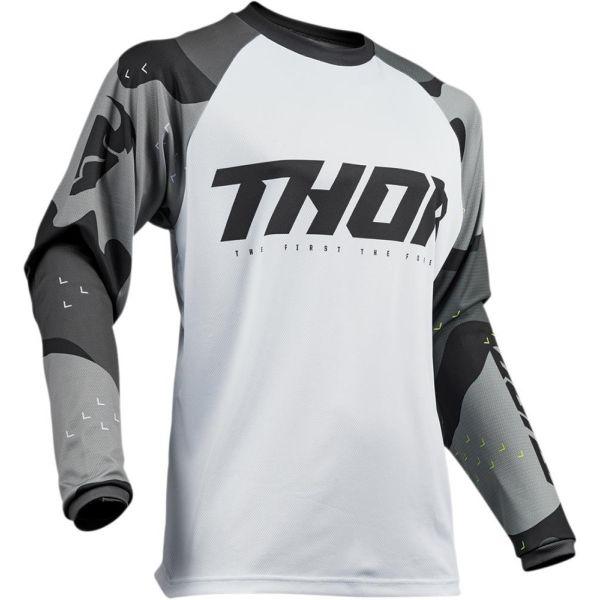 Tricouri MX-Enduro Thor Tricou Sector Camo Gray S9