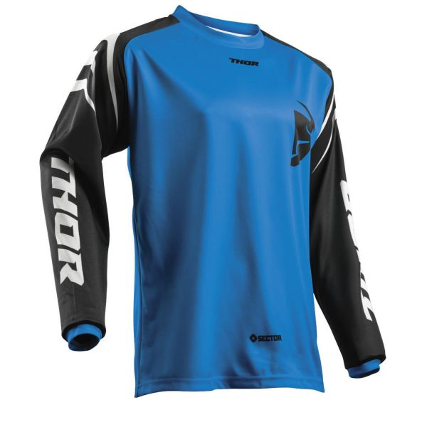 Tricouri MX-Enduro Thor Tricou Sector Zones Blue S8