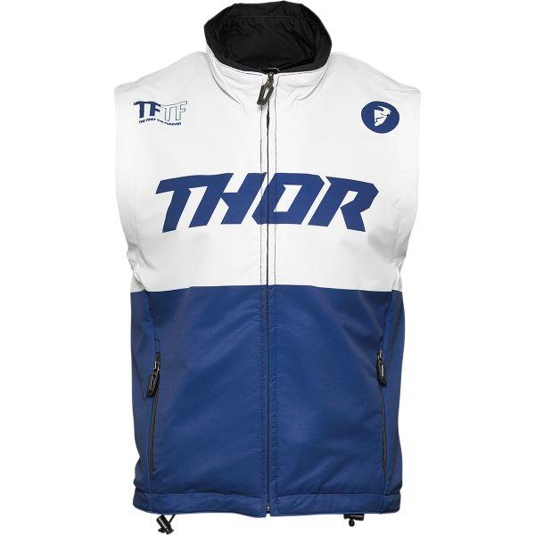 Geci Enduro Thor Vesta MX Warm-Up Albastru/Alb 2021