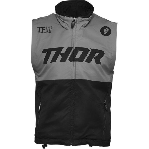 Geci Enduro Thor Vesta MX Warm-Up Negru/Gri 2021