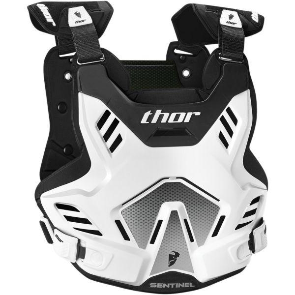 Protectii MX-Enduro Copii Thor Vesta Protectie Sentinel GP Deflector White/Black Copii 8-12 Ani