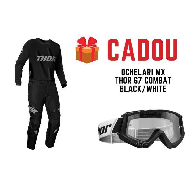 Combo MX Enduro Thor Combo Pantaloni+Tricou Terrain ITB Black 2021
