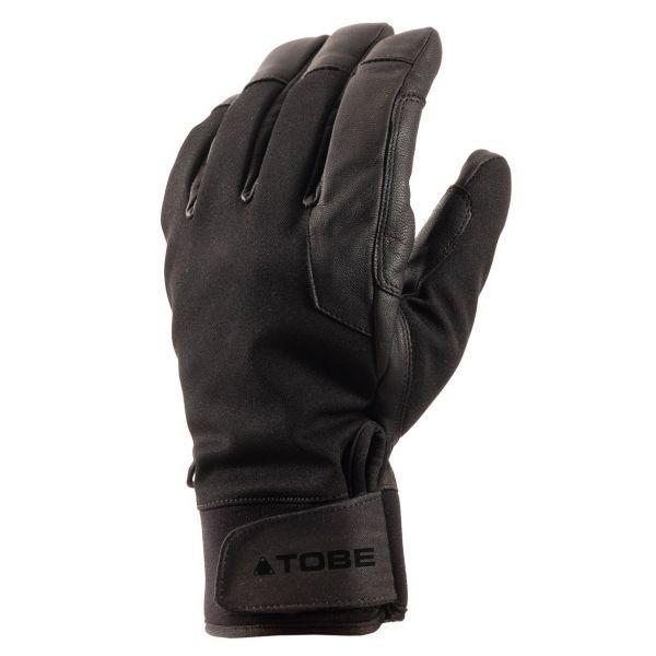 Manusi Snowmobil Tobe Snow Gloves Insulated Capto Mid Jet Black 2021