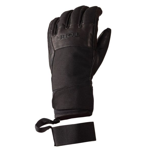 Manusi Snowmobil Tobe Snow Gloves Insulated Capto Undercuff V2 Jet Black 2021