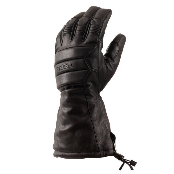 Manusi Snowmobil Tobe Snow Gloves Insulated Corium Heavy Jet Black 2021