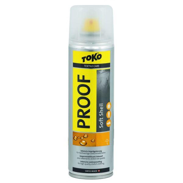 Intretinere Echipament Toko Solutie impermeabilizare Toko Soft Shell Proof 250ml