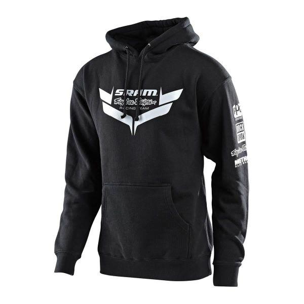 Geci/Hanorace Casual Troy Lee Designs Hanorac SRAM Racing Icon Charcoal