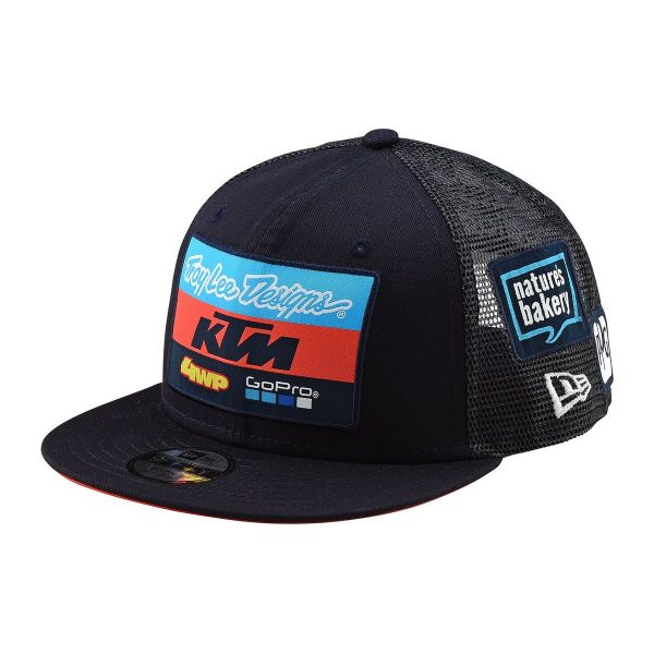 Sepci Troy Lee Designs Sapca De Copii TLD SNAPBACK KTM TEAM 9 FIFTY