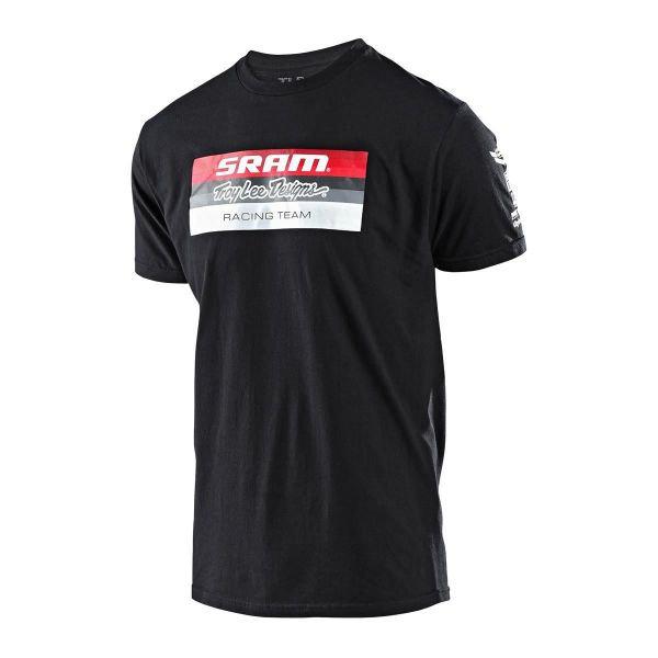Tricouri/Camasi Casual Troy Lee Designs Tricou SRAM Racing Block Black